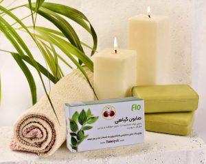 صابون گیاهی سبز روزی پاک (شستشوی سر و بدن)