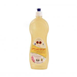 مایع ظرفشویی گیاهی ، سالم بدون بو و اسانس شیمیایی، بدون سولفات | روزی پاک